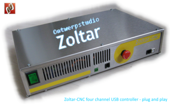 Four Channel Zoltar USB controller